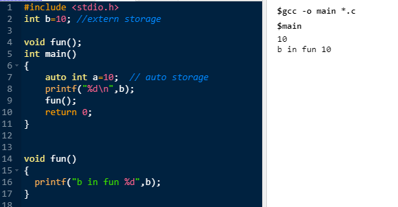 What are the Storage classes in C? – DoAfCo